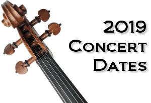 2019 Concert Dates Announced